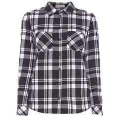 Modische #Bluse in #Schwarz von Jake*s. Die Bluse hat ein stylisches #Karomuster und aufgesetzte Brusttaschen. <3 ab 29,95 €