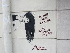 street art paris france misstic