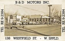 West Springfield MA B & D Motors Used Cars Chevrolet's Photograph