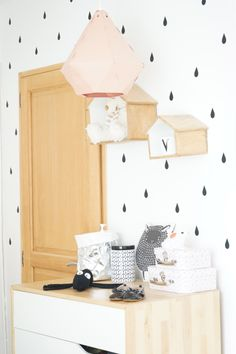 La chambre de Valentina - blog DECOuvrir design #decor #kidsroom #nursery
