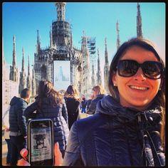 Continuano gli avvistamenti del Maestro Giuseppe Verdi nel capoluogo lombardo oggi all'ombra della #madonnina #duomo #milano #foundverdi #verdimuseum grazie @marima_80 @mariannavilla
