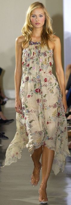 Badgley Mischka spring 2003.