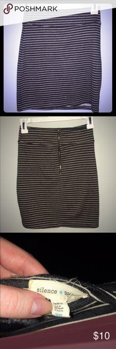 Striped Zip Up Bandage Skirt Bundle for discounts :) Skirts Mini