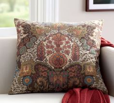 angelina print pillow cover 24 x multi