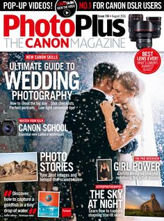 Ultimate guide to wedding Dslr Photography, Wedding Photography, Photography Magazine, Canon Dslr, Canon Eos, Portrait Lighting, School Essentials, Gq Magazine, Photo Story