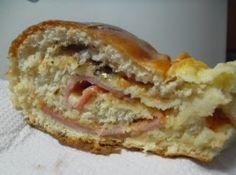 PÃO DE ALHO E AZEITONAS E PÃO COM LOMBO E QUEIJO - Receitas Culinárias