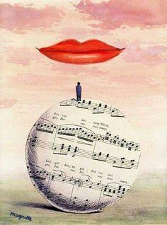 René Magritte, La Reconnaissance Infinie, 1961