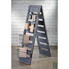 Add a rustic element to any space or display with our Shutter Ladder Display…