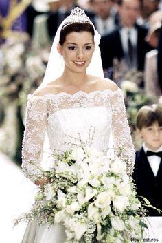 The Best Movie Wedding Dresses Movie: Princess Diaries 2