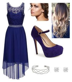 """8th Grade Formal 2"" by jennabreske ❤ liked on Polyvore featuring Dorothy Perkins, Jessica Simpson and Wallis"
