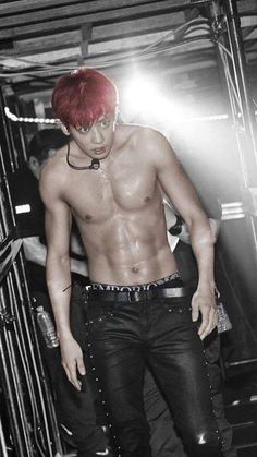 Chanyeol abs