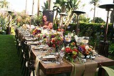French Provencal wine dinner party for Patek Philippe: Fairmont Miramar Santa Monica | San Diego Wedding Blog