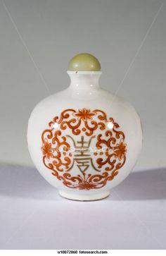 Snuff bottle Porcelain (Qing Dynasty)