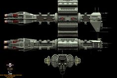 babalon 5 starships | SciFi - Babylon-5 Ships/Stations and other things - Foundation 3D ...