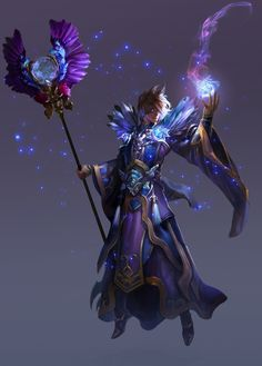 """""""X-Game Wizard"""" by *DevilDein Fantasy Character Design, Character Concept, Character Inspiration, Concept Art, Fantasy Wizard, Fantasy Warrior, Manga Characters, Fantasy Characters, Fantasy Costumes"""