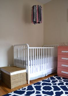 white jenny lind crib (going to paint mine to look like this!)