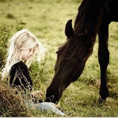 Every horse should know the love of a little girl at least once in their lift!