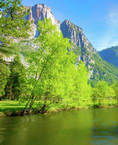 Merced River In Yosemite Valley Digital Art Art Print by Randy Herring. All prints are professionally printed, packaged, and shipped within 3 - 4 business days. Choose from multiple sizes and hundreds of frame and mat options.