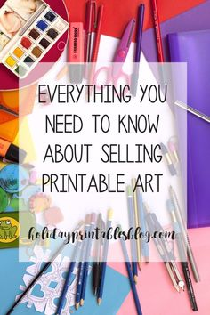 How to sell printables on Etsy! After thousands of sales, I've got the best tips and tricks for mastering selling downloads on Etsy!