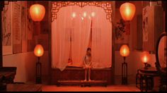 Zhang Yimou's Raise the Red Lantern  is another film where the color Red is very prevalent. Gong Li (a contemporary Garbo), plays a young...