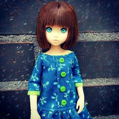 New clothes for Azone XS and Ruruko dolls.