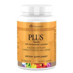 PLUS with Ambrotose® complex | Mannatech The PLUS tablets include a unique blend of standardised nutrients including phytohormones, plant based steroidal saponins, and glyconutrients to help maintain good health. The PLUS tablets are designed to promote general well-being which is achieved through Mannatech's formulation of Dioscorea and Ambrotose® complex. http://au.mannatech.com/real-products/health/plus/
