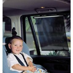 Dreambaby Adjustable Car Wide Roller Shades - Free Shipping