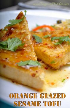Orange Glazed Sesame Tofu