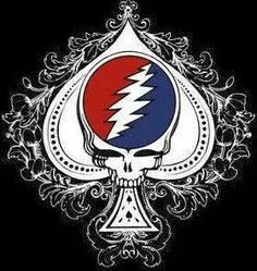 Steal your ace Grateful Dead Tattoo, Grateful Dead Shows, Grateful Dead Skull, Grateful Dead Image, Grateful Dead Poster, 70s Rock And Roll, Phil Lesh And Friends, Mickey Hart, Jerry Garcia Band