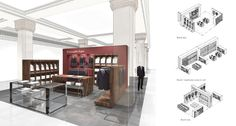 Harrods  Transforming a retail landmark  LOM have worked with Harrods to develop new retail concepts for departments including the Man Shop and Contemporary Rooms.