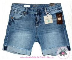 I would love a pair of these for summer! Kut From The Klot Lonnie Frayed Cuff Denim Shorts Stitch Fix Outfits, Looks Style, Style Me, Short Outfits, Cute Outfits, Denim Outfits, Fix Clothing, Clothing Ideas, Stitch Fit