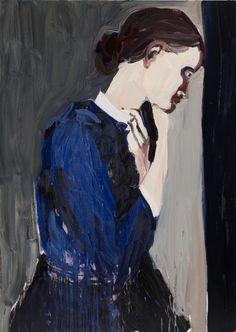 Chantal Joffe, Untitled, 2010, Oil on board, 213.5 x 153 cm