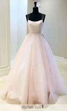 Pink tulle sequins long prom dress pink evening dress, Customized service and Rush order are available Senior Prom Dresses, Pretty Prom Dresses, Prom Outfits, Pink Prom Dresses, Event Dresses, Dance Dresses, Beautiful Dresses, Sexy Dresses, Wedding Dresses