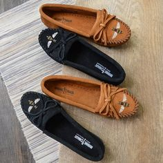 Bee quick! These new limited edition mocs are sure to sell out soon.