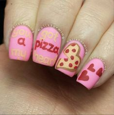 Awesome Valentine's Day nails