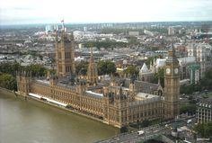Londres.- Big Ben desde London Eye