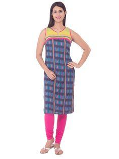 Fab Nisa Basic Cotton kurti for Rs.899/-