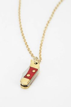 Little Pocketknife Necklace - Urban Outfitters