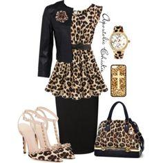Ruffled Leopard