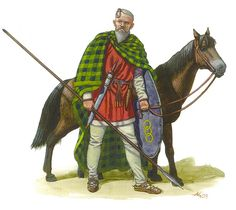 Suebi Germanic warrior, 1st cent. A.D.