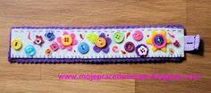 Pracownia Milgra: Haftowanie koralikami, cekinami, guzikami... Candy, Sweets, Candy Bars, Chocolates