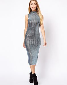 Foiled Dress