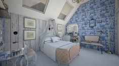 tiny 12 - Vintage - Bedroom - by EastView16