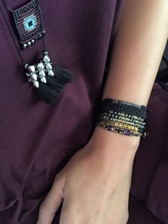 Macrame Necklace, Macrame Jewelry, Macrame Bracelets, Crystal Jewelry, Surfer Bracelets, Knot Braid, Micro Macrame, Handmade Accessories, Wire Wrapped Jewelry