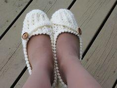 Crochet Dreamz: Anne Lee Zapatillas, zapatillas Patrón ganchillo de la Mujer, TAMAÑOS EE.UU. 5 un 10