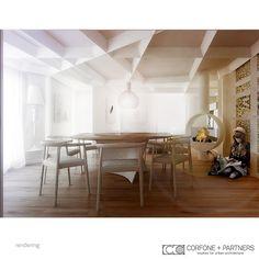CORFONE+PARTNERS -  Interior design Living Room - FMT HOUSE