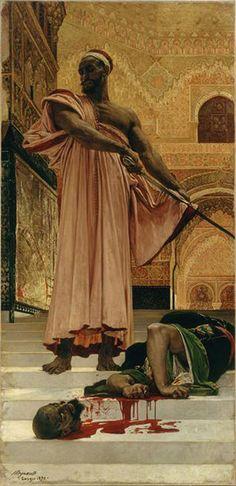 Exécution sans jugement sous les rois maures - Henri Regnault - 1870