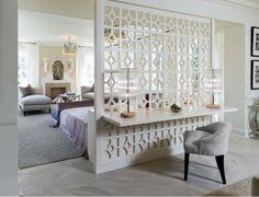 Cloisons ajourées, claustras : 15 inspirations pour séparer une pièce avec style I Elaa Décoration