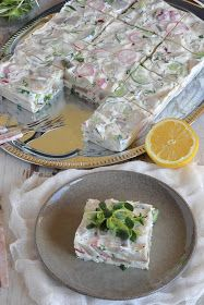 Passions, hobbies, life: Terrina ze śledzi Vegetarian Recipes, Healthy Recipes, Party Buffet, Polish Recipes, Appetisers, Seafood Dishes, Vintage Recipes, Fresh Rolls, Superfood