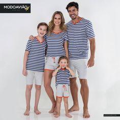 Pijamas Familia Look Fashion, Kids Fashion, Mother Daughter Fashion, Matching Pajamas, Matching Family Outfits, Father And Son, Mom And Baby, Pyjamas, Pajama Set